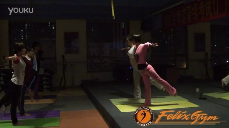 菲力斯健身俱乐部---双人瑜伽
