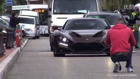 1104HP Zenvo ST1 - on the road in Monaco!