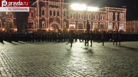2014年俄罗斯胜利日莫斯科阅兵式夜间彩排