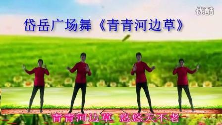 岱岳广场舞《青青河边草》北黄社区舞蹈