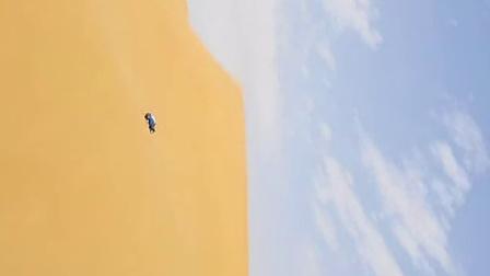 腾格里沙漠V沟刷锅