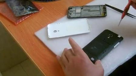 如何魅族MX3拆机换屏屏幕维修视频教程
