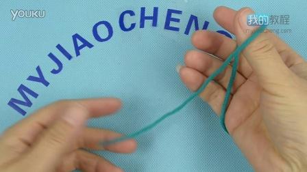 287单螺纹用棒针起针(2侧各1下针)-编织小屋毛衣编织视频教程编织方法图