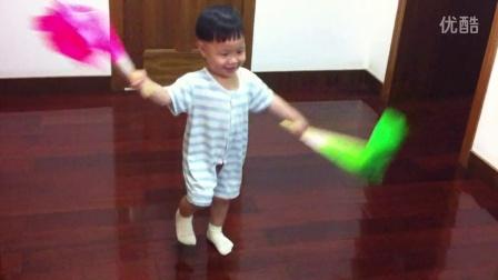 天天大宝贝跳扇子舞之《最炫民族风》
