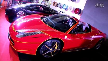 【亿佰欧无锡】2014年无锡国际改装车展亿佰欧展台花絮1