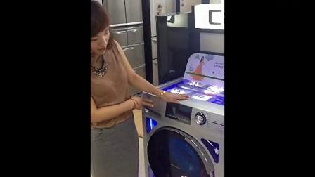 宁波中心温州区域苍南灵溪海尔专卖店高宵宵XQG80-HBD1626讲解