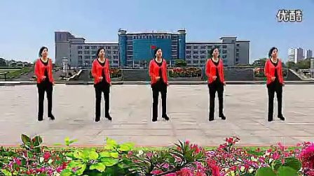 上饶县仙仙广场舞双枪老太婆《歌词版》(流畅)_标清