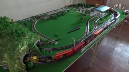 高清配乐版!美国两大铁路公司组成联合货列上线运行(2014)