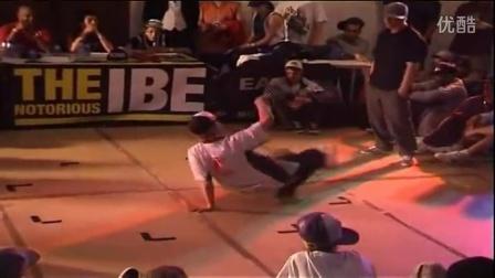 【粉红豹】IBE 2008 footwork battle (Part 2_2)_Breaking_bboy