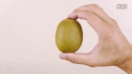 弥猴桃、芒果、牛油果剥皮有窍门