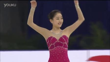 李子君 2014年花滑大奖赛中国杯 女单短节目