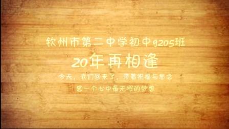 钦州二中9205班毕业20年聚会