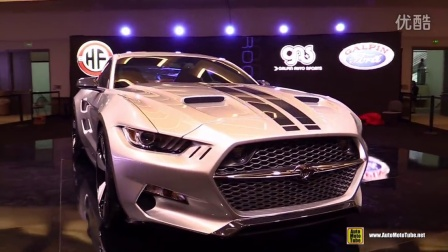 2015福特Mustang Rocket by Galpin Auto Sports & Henrik Fisker 洛杉矶车展