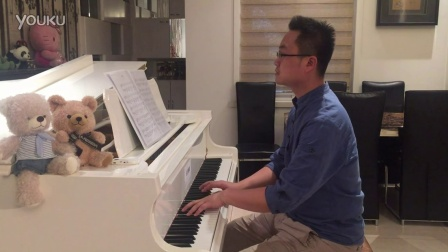 《醉清风》钢琴曲 -- 原唱:弦子