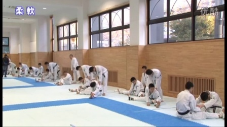 Naniwa Highschool Karate training6