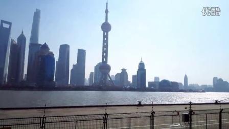 小君广场舞  张靓颖 - 冬天里的一把火 上海室外版