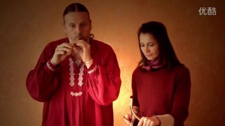 古代乐器骨笛演奏 - Alexander Horsch - Csontfuvola