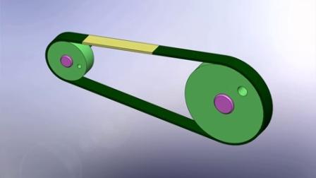 solidworks皮带传动动画
