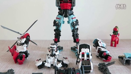小不高兴和他的小伙伴们——Maketoys GUARDIA (Defensor) 守护神 机器卫兵