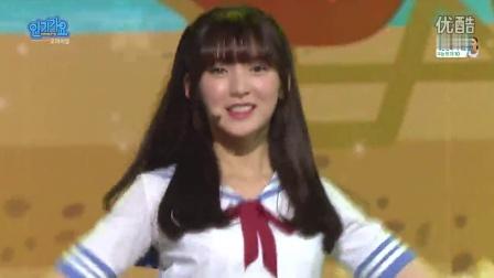【Sxin隋鑫】[超清现场]160814 Oh My Girl - A-ing SBS 人气歌谣 Inkigayo