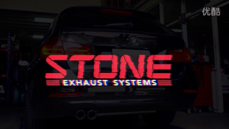 STONE Exhaust BMW F31 328i 涡流三元催化+中尾