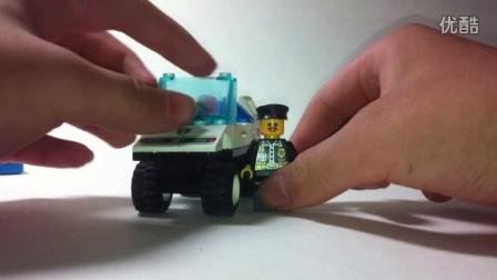 (BT青年帮)君哥的神奇收藏:乐高城市英雄小人巡警警车