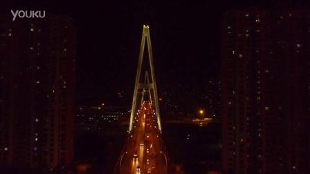 济南夜景航拍