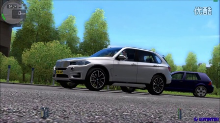 【lrtinter原创】城市汽车驾驶模拟 City Car Driving #002 BMW X5 F15
