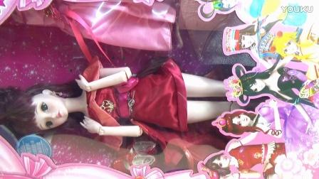 叶罗丽娃娃拆箱 齐娜 叶罗丽战士 菲灵仙子的主人 精灵梦叶罗丽仙子 芭比罗丽屋