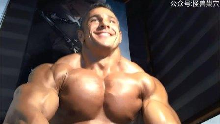 【视频基情】健美肌肉男,超大胸肌6
