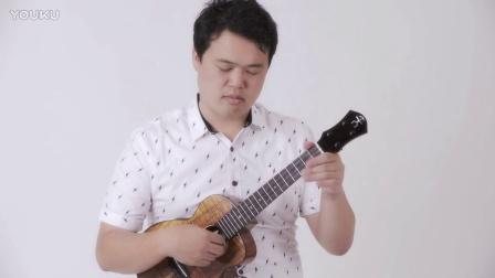 彩虹人尤克里里 UT3K|Kyas Ryo〈Somewhere over the Rainbow〉aNueNue UT3k Koa Bird Ukulele