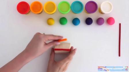 彩虹扭扭条美味冰淇淋自制 134
