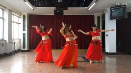 肚皮舞《玫瑰情人》表演+分解 年会舞蹈