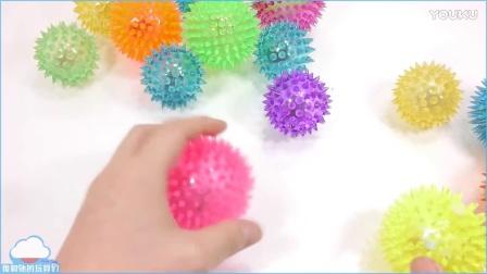 1000度刀 VS 橡胶灯球了解颜色煤泥混合动力砂泡 果冻 布丁做法 惊喜玩具 美国kinetic太空沙  【 俊和他的玩具们 】