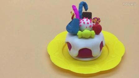 超轻粘土  生日蛋糕奶油蛋糕