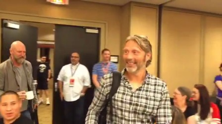 Mads Mikkelsen at Celebrity breakfast at FanExpo Canada 2015.9