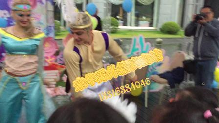 上海创意节目外籍迪斯尼舞蹈表演进入儿童生日派对