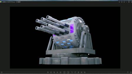 C4D教程 塔炮建模 1-1
