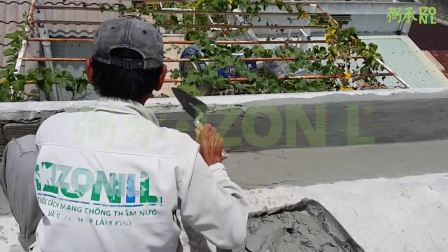 防水保温砂浆屋面施工流程