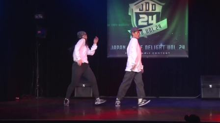 【5BBOY】'お〜でぃんず'_2017.4.16_JAPAN DANCE DELIGHT VOL.24 仙台大会