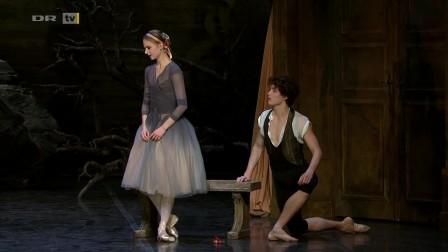 吉赛尔 Giselle 第一幕 丹麦皇家芭蕾舞团 Ida Praetorius & Andreas Kaas 2016年