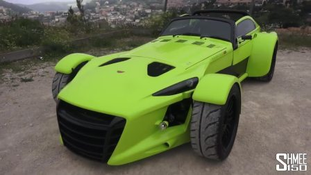 稀罕物!霸气的高性能跑车Donkervoort D8 GTO RS