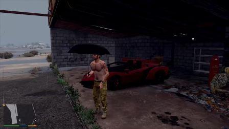 GTA5开毒药敞篷超跑遇见雷雨天怎么办?