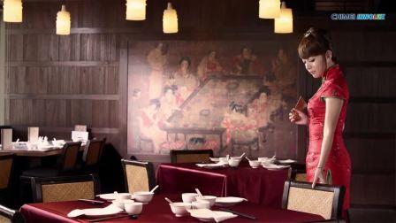 4K北京烤鸭与美女