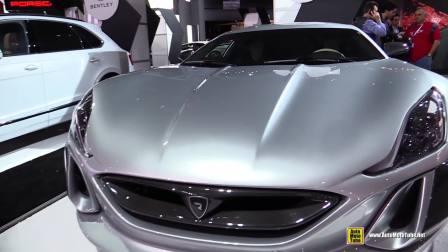 【AutoOrigina】克罗地亚Rimac Concept 1-纽约车展实拍