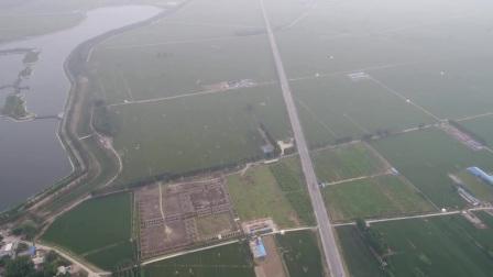 国产大疆无人机450米高空降落