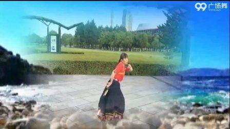 春之韵广场舞《天边的巴拉格宗》藏舞