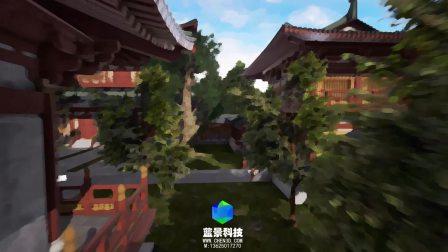 油画版 云山麓 旅游vr 虚拟旅游 虚拟现实 vr ue4