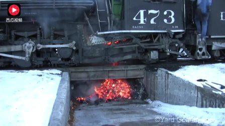 原来燃煤火车这么耗费能源 怪不得现在都被淘汰了