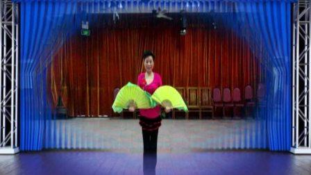 双扇舞蹈:和谐中国(正面)